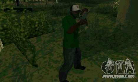 Nuevas características de las armas para GTA San Andreas quinta pantalla
