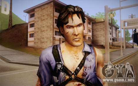 Ash Williams из Evil Dead la Regeneración para GTA San Andreas tercera pantalla