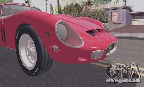 Ferrari 250 GTO 1962 para la visión correcta GTA San Andreas