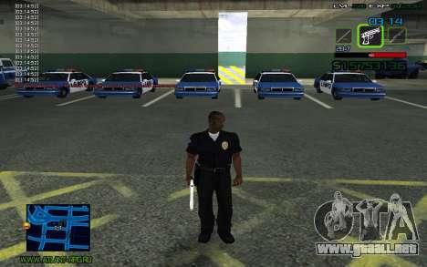 C-HUD by SampHack v.2 para GTA San Andreas