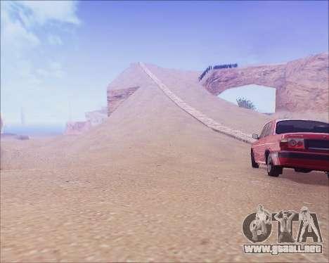 GAZ 31105 Sintonizable para GTA San Andreas left