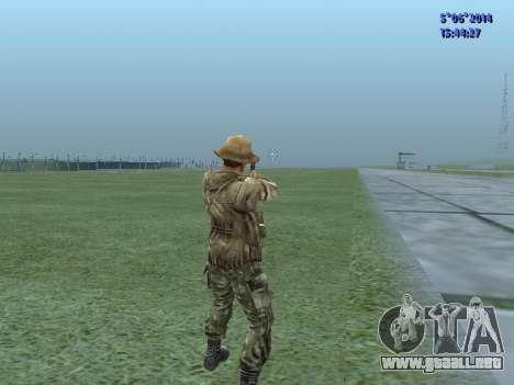 El aire militar de la URSS para GTA San Andreas sucesivamente de pantalla