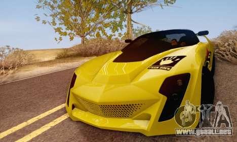 Bertone Mantide 2010 Rock Generation para GTA San Andreas left