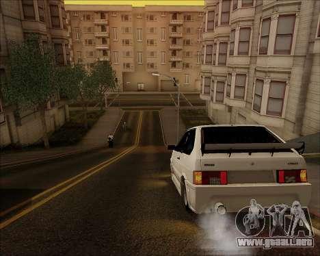 VAZ 2112 Sintonizable para visión interna GTA San Andreas