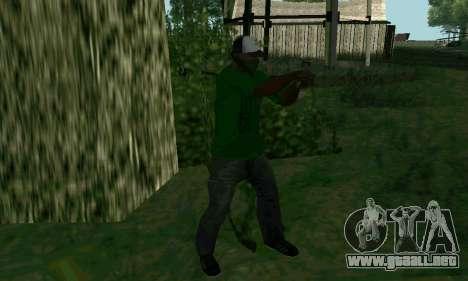 Nuevas características de las armas para GTA San Andreas sucesivamente de pantalla
