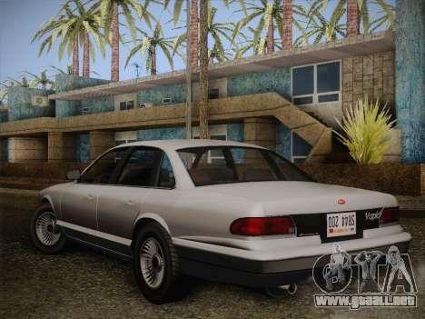 Stanier from GTA 5 para GTA San Andreas left