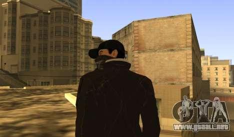 New Aiden Pearce para GTA San Andreas sexta pantalla