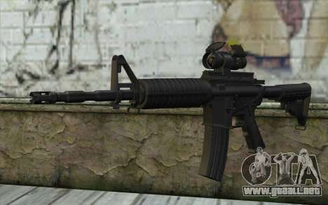 Ricks M4A1 from The Walking Dead S3 para GTA San Andreas