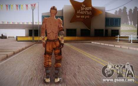 Gangster de Borderlands 2 para GTA San Andreas segunda pantalla