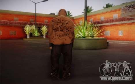 Him para GTA San Andreas segunda pantalla