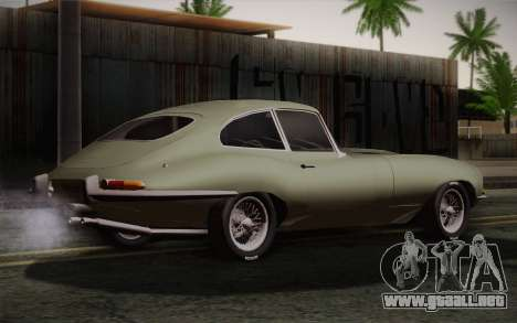 Jaguar E-Type 4.2 para GTA San Andreas left