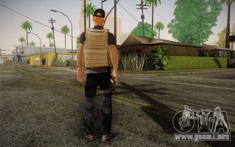 Desmadroso v1 para GTA San Andreas segunda pantalla