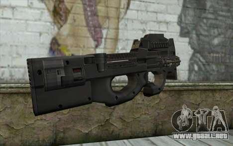 FN P90 MkII para GTA San Andreas segunda pantalla
