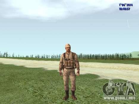 Afghanistan Soviet Soldiers para GTA San Andreas séptima pantalla