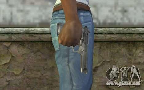 Police Beretta 92 para GTA San Andreas tercera pantalla