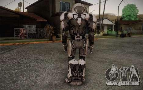 Robo Creed para GTA San Andreas segunda pantalla