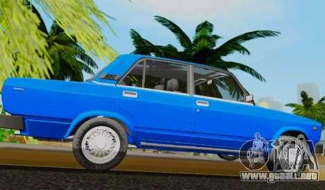 VAZ 2105 Riva para GTA San Andreas left