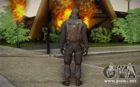 S.A.S Gas Mask para GTA San Andreas segunda pantalla