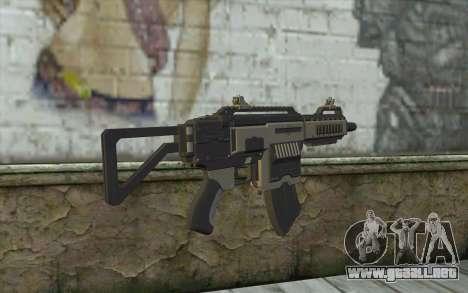 NS-11C Carbine from Planetside 2 para GTA San Andreas segunda pantalla