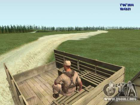 Afghanistan Soviet Soldiers para GTA San Andreas sexta pantalla