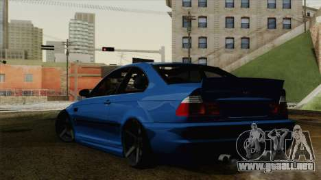 BMW M3 E46 STANCE para GTA San Andreas left