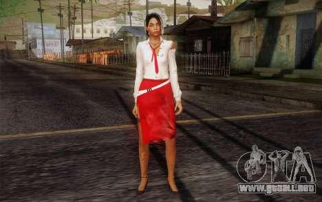 Xian Mei from Dead Island para GTA San Andreas