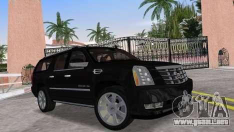 Cadillac Escalade ESV Luxury 2012 para GTA Vice City