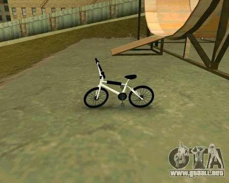 BMX из GTA Vice City Stories para GTA San Andreas vista posterior izquierda
