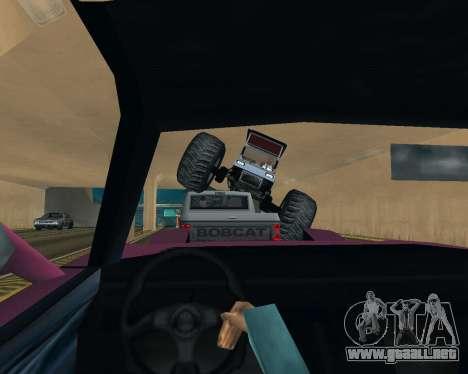 Caddy Monster Truck para vista lateral GTA San Andreas