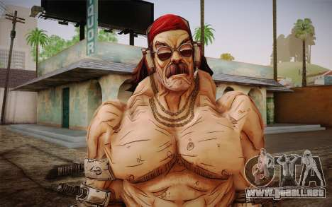 D. el torgue из Borderlands 2 para GTA San Andreas