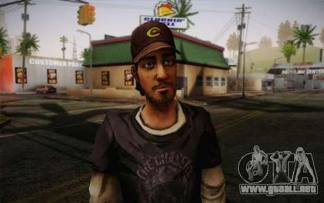 Nick из The Walking Dead para GTA San Andreas tercera pantalla