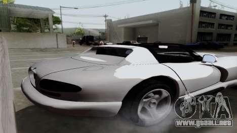 Dodge Viper RT-10 1992 para GTA San Andreas left