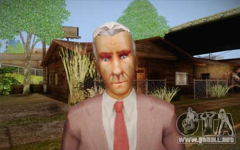 Leslie William Nielsen para GTA San Andreas tercera pantalla