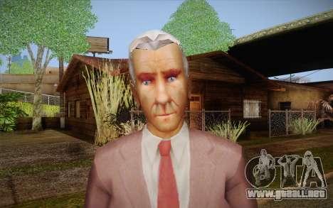 Leslie William Nielsen para GTA San Andreas tercera pantalla