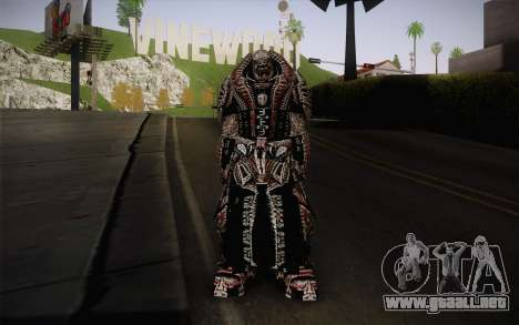 Theron Guard Cloth From Gears of War 3 v2 para GTA San Andreas