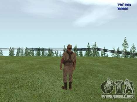 Afghanistan Soviet Soldiers para GTA San Andreas tercera pantalla