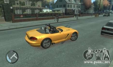 Dodge Viper SRT-10 2003 v2.0 para GTA 4 vista desde abajo