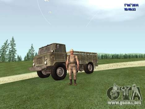 Afghanistan Soviet Soldiers para GTA San Andreas segunda pantalla