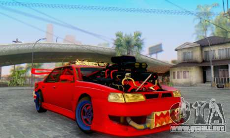 New Sultan para GTA San Andreas vista hacia atrás