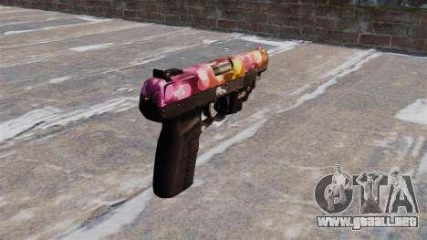Pistola FN Cinco de los siete Puntos LAM para GTA 4 segundos de pantalla