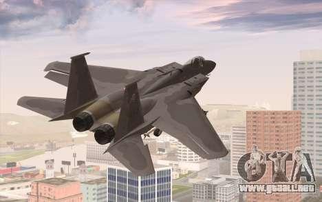 F-15C Eagle para GTA San Andreas left