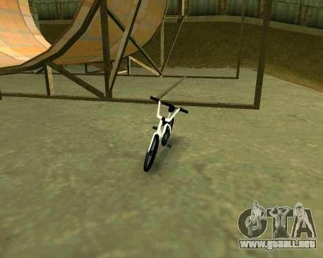 BMX из GTA Vice City Stories para GTA San Andreas left