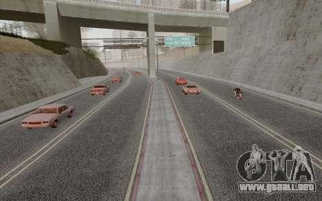 HD Roads 2014 para GTA San Andreas tercera pantalla