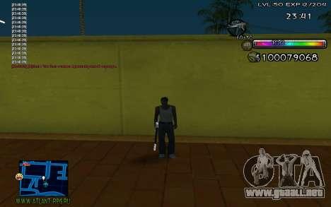 C-HUD by Miks para GTA San Andreas tercera pantalla