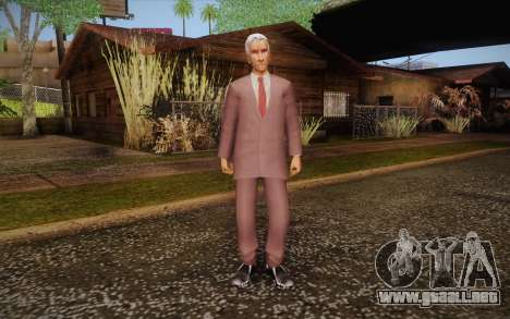 Leslie William Nielsen para GTA San Andreas