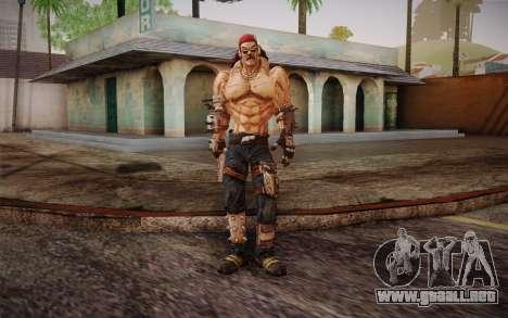 D. el torgue из Borderlands 2 para GTA San Andreas segunda pantalla