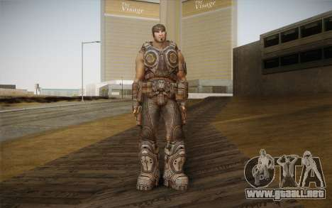 Marcus Fenix из Gears of War 3 para GTA San Andreas