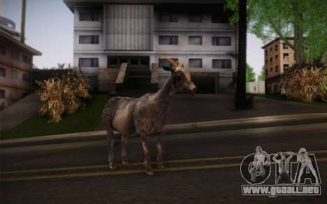 Cabra para GTA San Andreas segunda pantalla