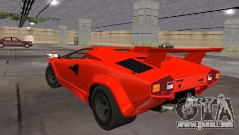 Lamborghini Countach LP5000 Extreme para GTA Vice City left