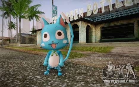 Happy from Fairy Tail para GTA San Andreas